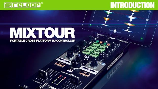 Sleek & Powerful: MIXTOUR for djay (iOS / Android / Laptop)