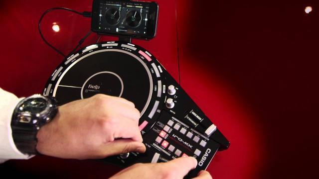 Casio Trackformer XW-DJ1 with DJ Nino Brown