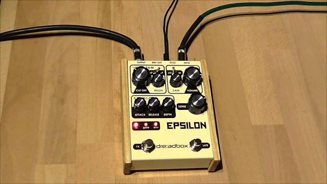 Epsilon by Dreadbox (a quick demonstration)