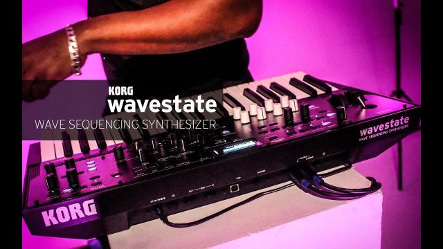 Korg wavestate: Wave Sequencing Synthesizer