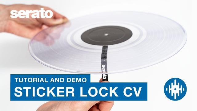 Sticker Lock Control Vinyl | Tutorial and Demo