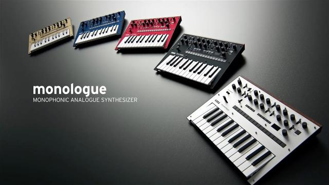 KORG monologue | Next-generation monophonic analog synthesizer
