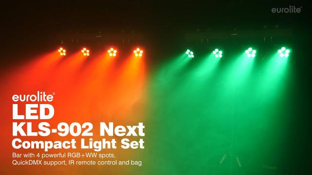 EUROLITE LED KLS-902 Next Compact Light Set