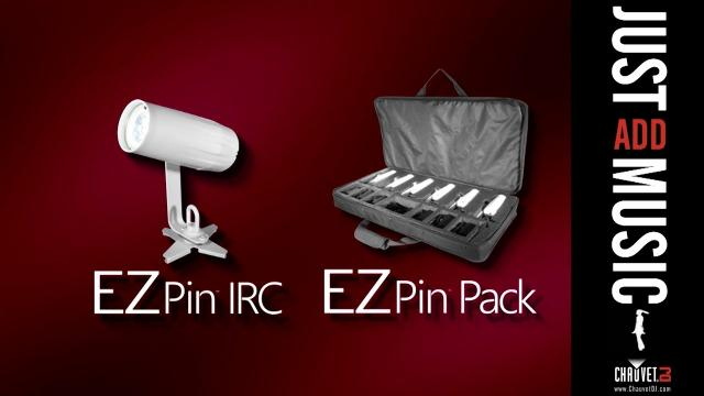 EZpin IRC and EZpin Pack by CHAUVET DJ