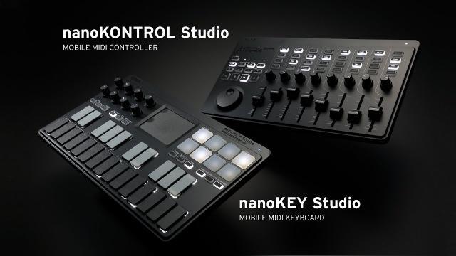 KORG nanoKEY Studio / nanoKONTROL Studio - Take Control Further