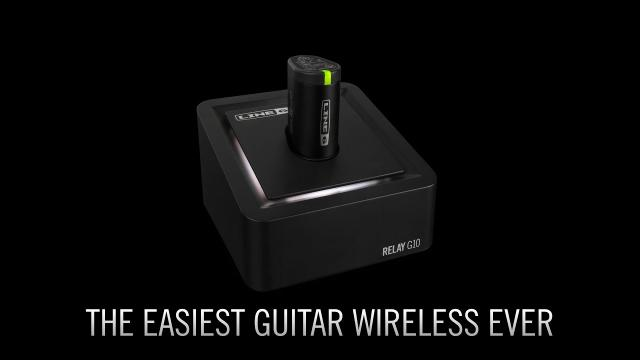 Introducing Relay G10 - the easiest guitar wireless ever | Line 6