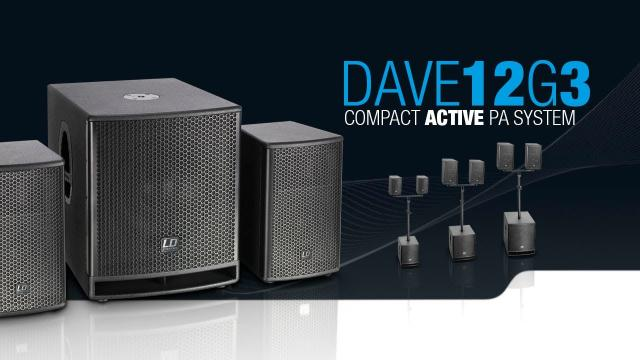 LD Systems DAVE 12 G3 - Compact 12
