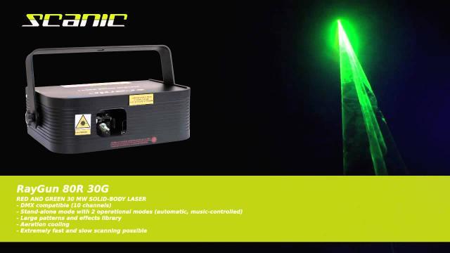 Scanic RayGun 80R 30G