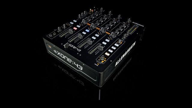 (German) Xone:43 4+1 Channel DJ Mixer