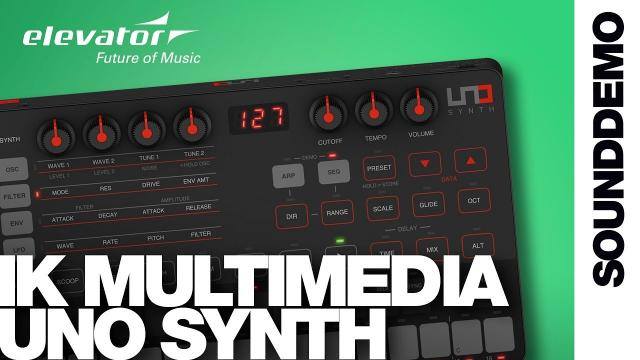 IK Multimedia UNO Synth - Synthesizer - Sound Demo (no talking)