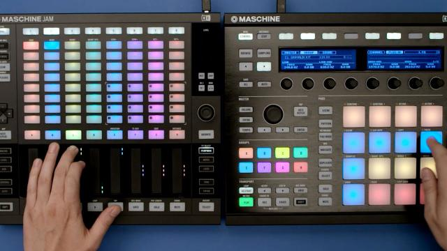 MASCHINE JAM workflow: Combining MASCHINE hardware | Native Instruments