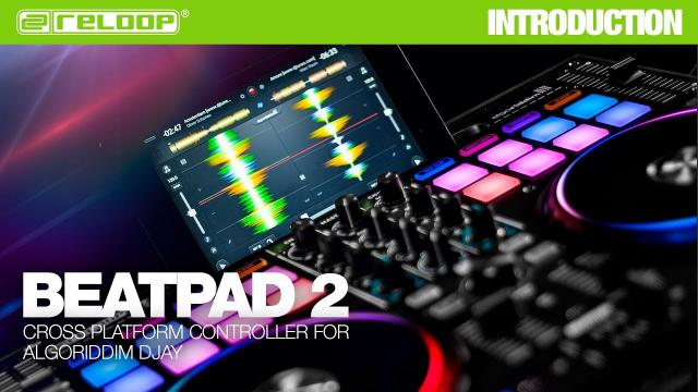 Beatpad 2: iOS + Android + Mac Controller for DJAY 2