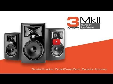 Introducing Next Generation JBL 3 Series MkII Studio Monitors