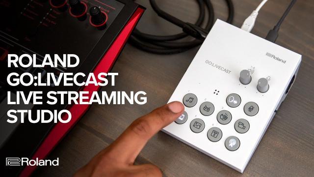 Roland GO:LIVECAST Live Streaming Studio for Smartphones