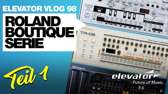 Roland Boutique Serie - VLOG98-1 (Deutsch)