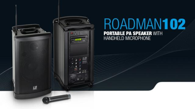 LD Systems Roadman 102 - Portable PA Speaker