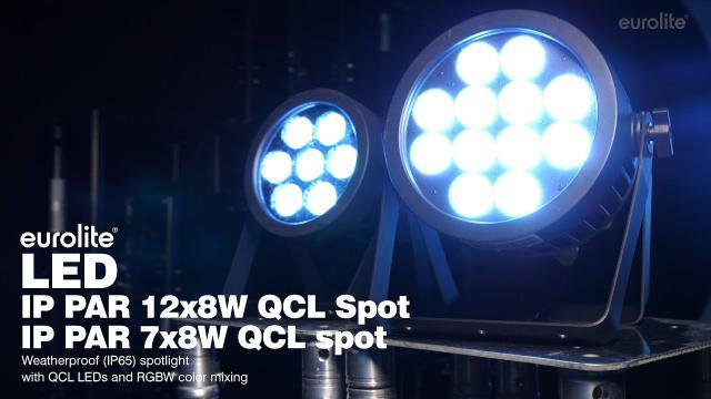 EUROLITE LED IP PAR 7x8W QCL Spot / EUROLITE LED IP PAR 12x8W QCL Spot