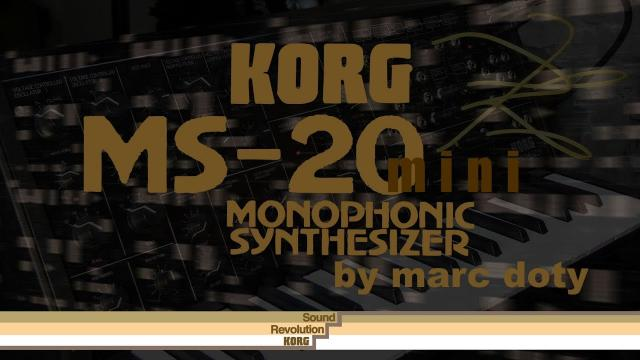 The Korg MS-20 Mini- Patch Examples Part 1