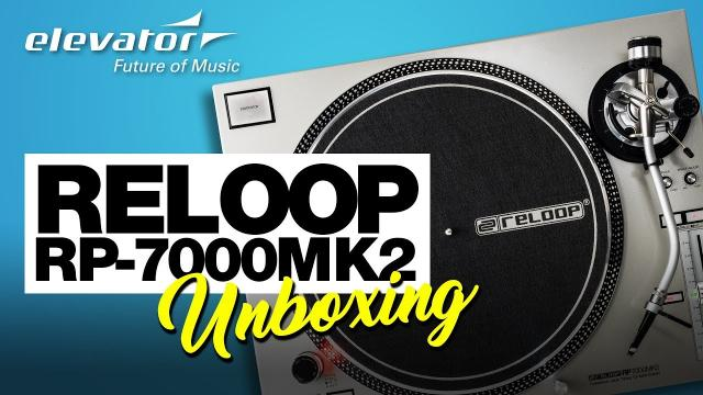 Reloop RP-7000 MK2 - Plattenspieler - Unboxing (Elevator deutsch)