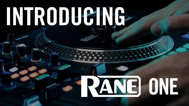 RANE ONE | Professional Motorized DJ Controller | INTRODUCTION