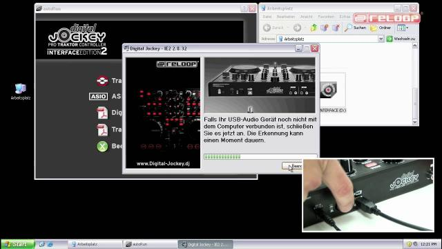 Digital Jockey 2: Tutorial 01 - ASIO Installation (Deutsch)