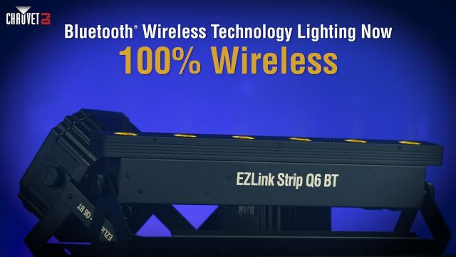 EZLink BT Family Product Video by CHAUVET DJ