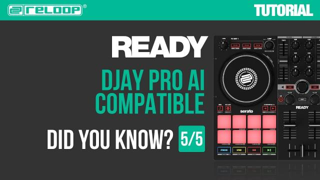 Reloop Ready - Portable Controller for Serato - djay Pro AI compatible. Did you Know? (Tutorial 5/5)