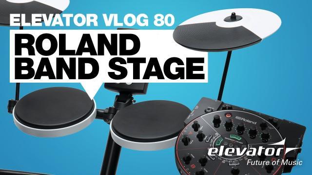 Roland Bandstage - Elevator Vlog 80 (deutsch)