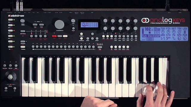 Workflow: Analog Keys / Four