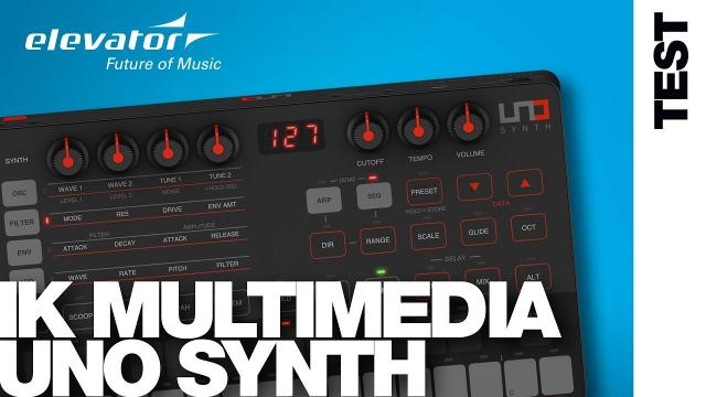 IK Multimedia UNO Synth - Synthesizer - Test