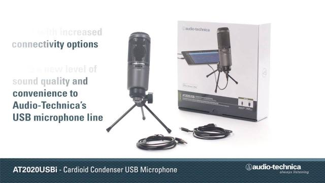 AT2020USBi Overview | Cardioid Condenser USB Microphone