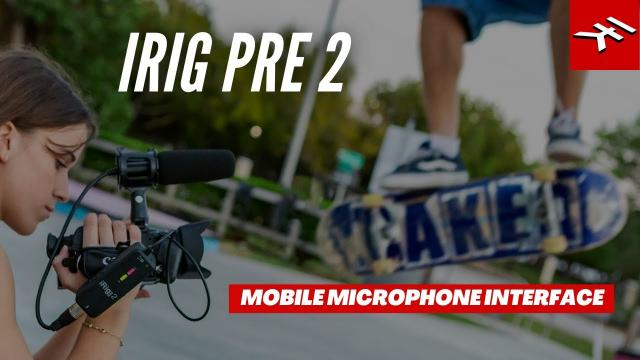 iRig Pre 2 mobile microphone interface