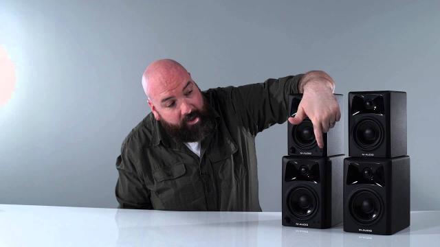 M-Audio - Intro on the latest AV32 & AV42 speakers