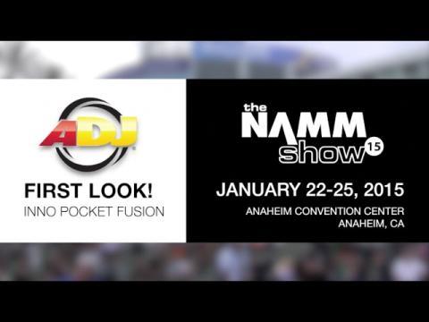 First Look! ADJ Inno Pocket Fusion at NAMM 2015