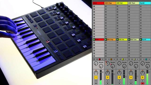 Reloop Keypad Live Demo
