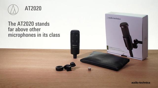 AT2020 Overview | Cardioid Condenser Microphone