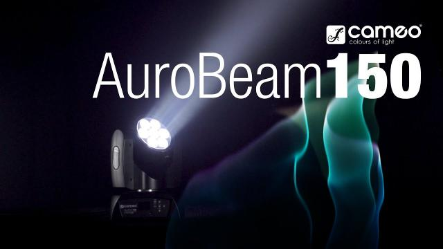 Cameo AUROBEAM 150 - 7 x 15 W RGBW LED Unlimited Moving Head