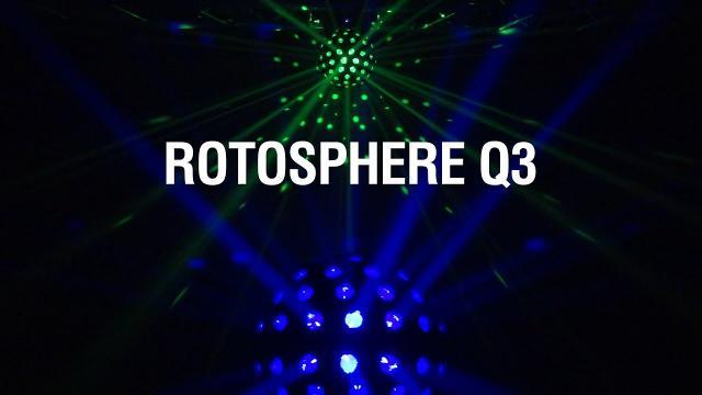 ROTOSPHERE Q3 by CHAUVET DJ