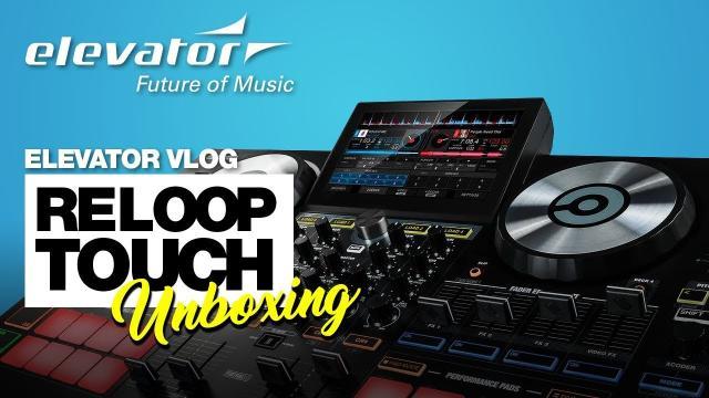Reloop Touch - Virtual DJ Controller - Unboxing (Elevator deutsch)