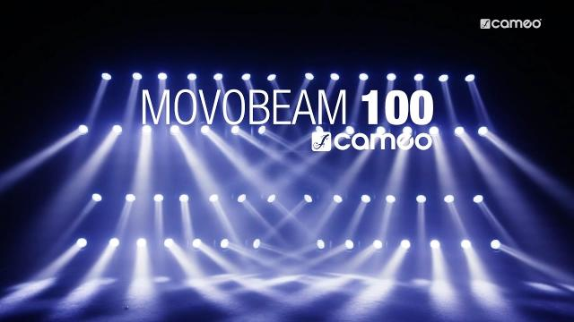 Cameo MOVO® BEAM 100 - Unlimited Rotation Beam Moving Head with LED Ring