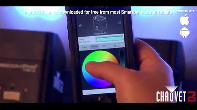 CHAUVET DJ FlareCON- Wireless DMX  lighting control from Smartphones