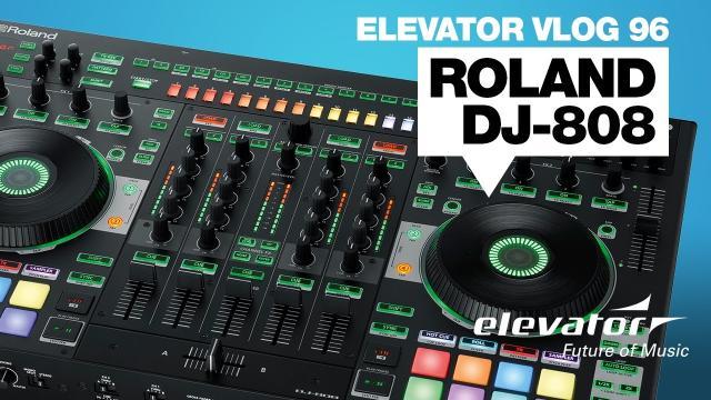 Roland DJ-808 - DJ-Controller - Test (Elevator Vlog 96 deutsch)