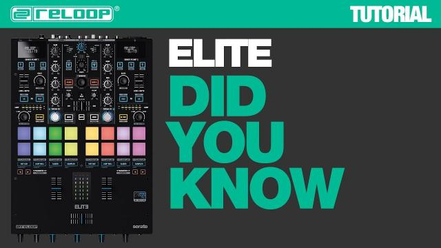 Reloop ELITE High Performance DVS Mixer for Serato - Did You Know? (Tutorial)