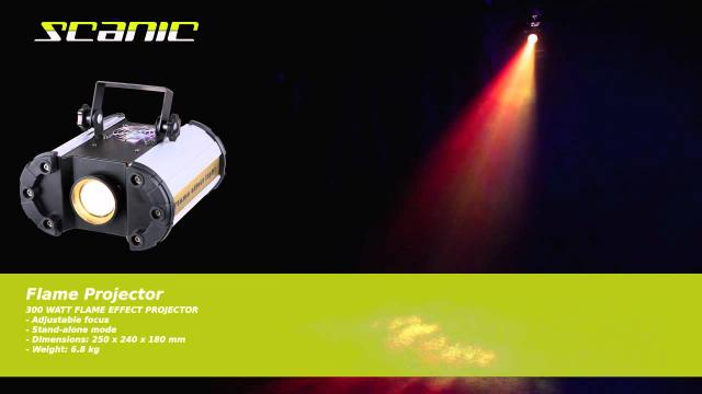 Scanic Flame Projector
