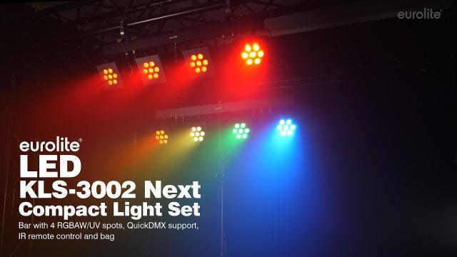 EUROLITE LED KLS-3002 Next Compact Light Set