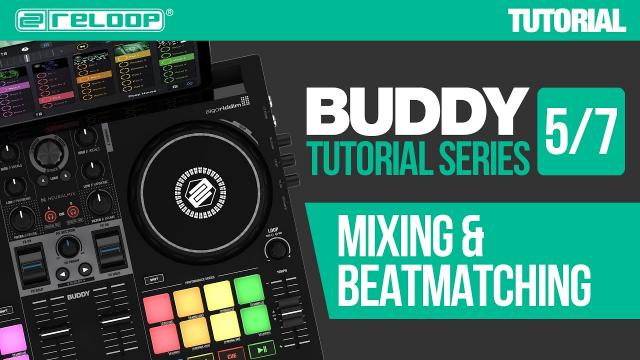 How to mix and beatmatch with Reloop Buddy - a compact controller for djay (Tutorial 5/7)