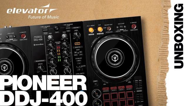 Pioneer DDJ-400 - DJ Controller - Unboxing (Elevator Vlog deutsch)