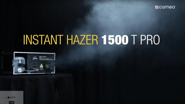 Cameo INSTANT HAZER 1500 T PRO - Touring Hazer with microprocessor control