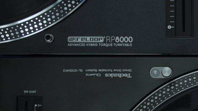 Technics MK2 Vs Reloop RP8000