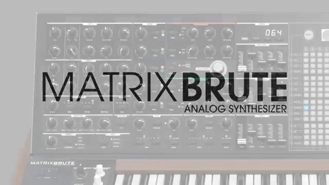 NAMM 2016 - Arturia MatrixBrute Preview